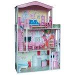 rozkládací domeček pro panenky barbie